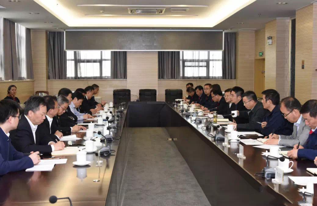 中国中车股份有限公司副总裁余卫平一行来我公司调研
