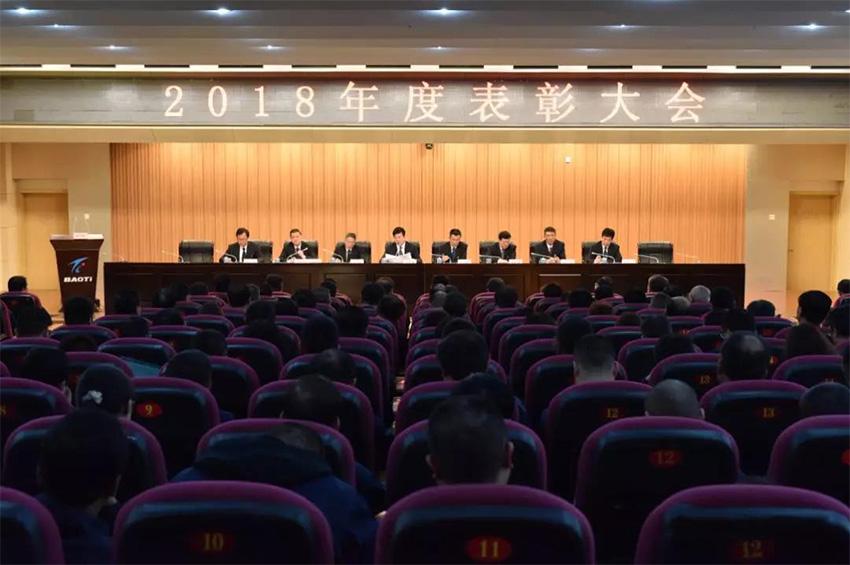 公司隆重召开2018年度表彰大会