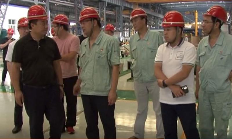 人民網陜西頻道總編輯袁飛來公司調研