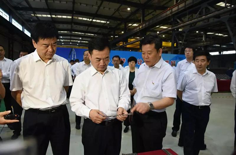 渭南市市长李毅一行来公司调研
