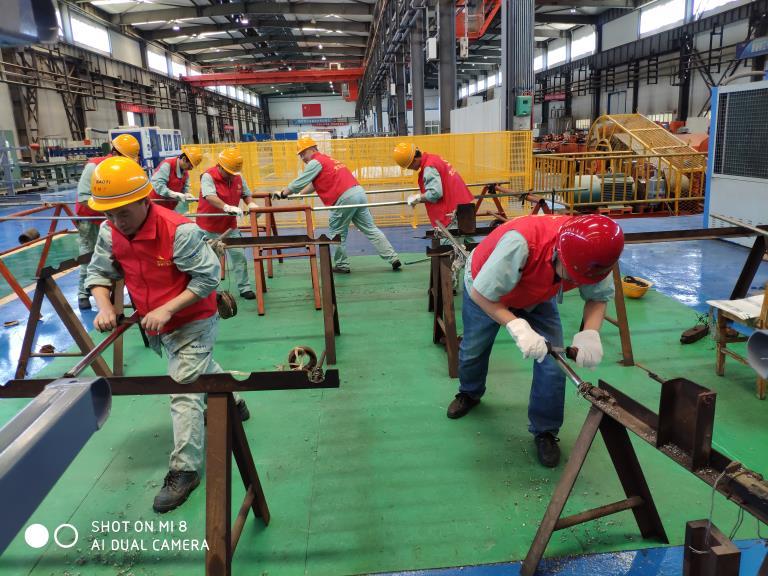 公司各单位以实干迎接新中国成立70周年