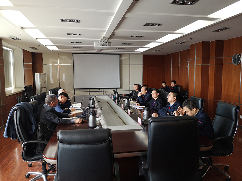 江苏天工工具公司来宝钛股份洽谈合作项目