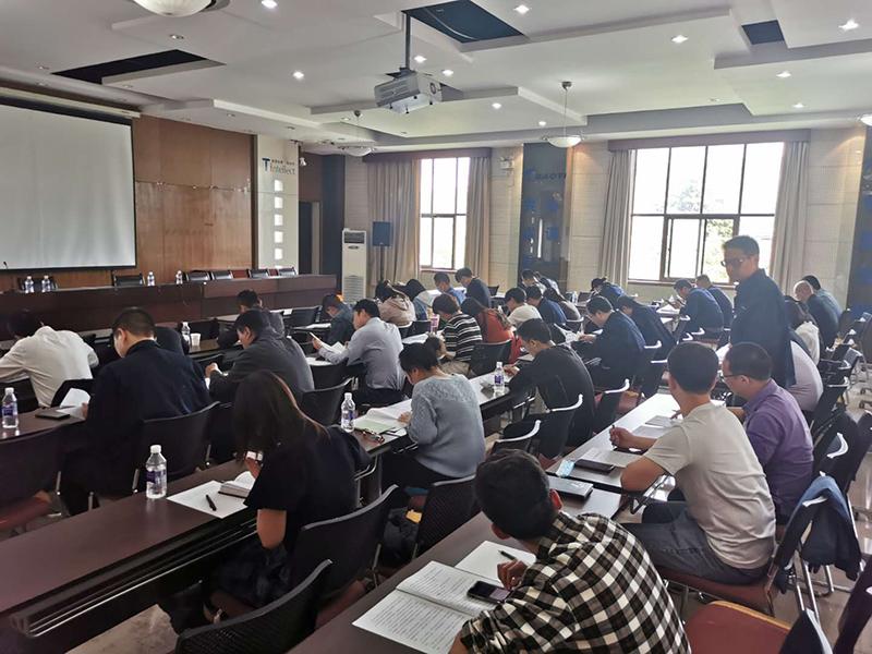 2020年公司法人授权委托及合同管理员培训考试工作圆满完成
