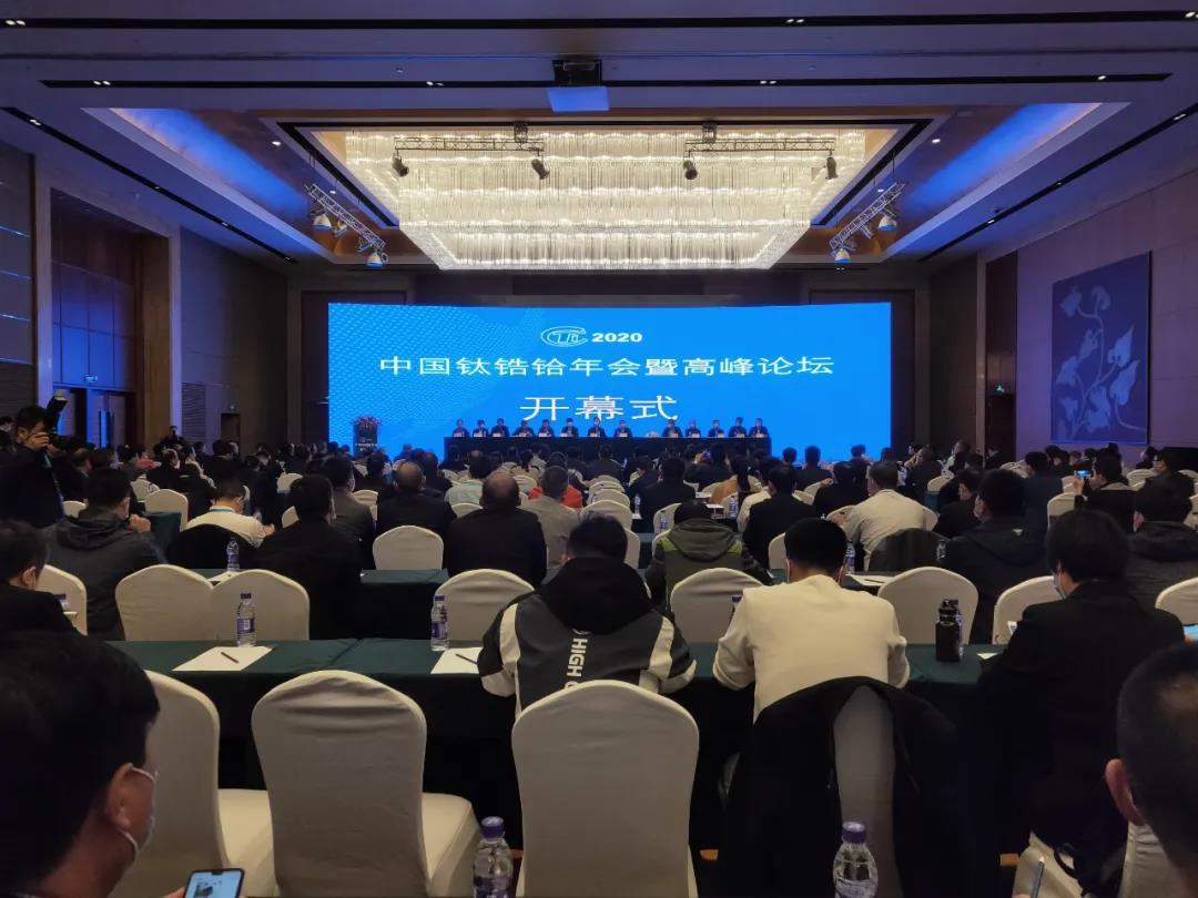 王文生出席中国钛锆铪年会暨高峰论坛并作报告