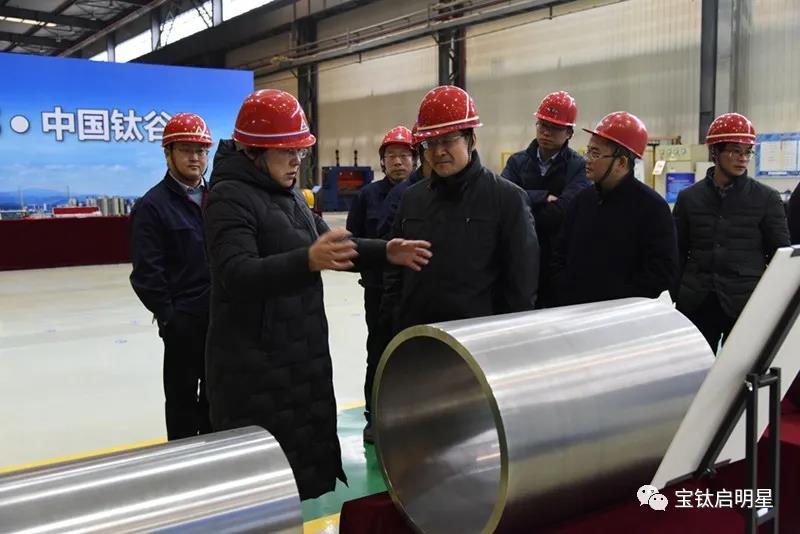 中国航发黎阳公司党委书记 董事长张姿来公司走访