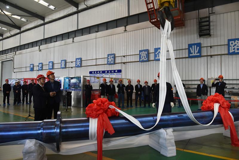 国产首件大型PTA核心部件在宝钛顺利完工