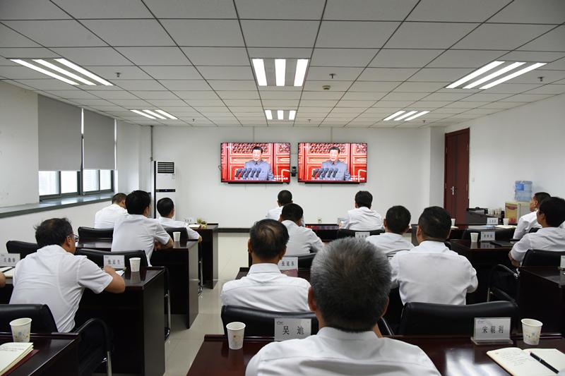 公司組織收看慶祝(zhu)中國共產黨成立100周年大會